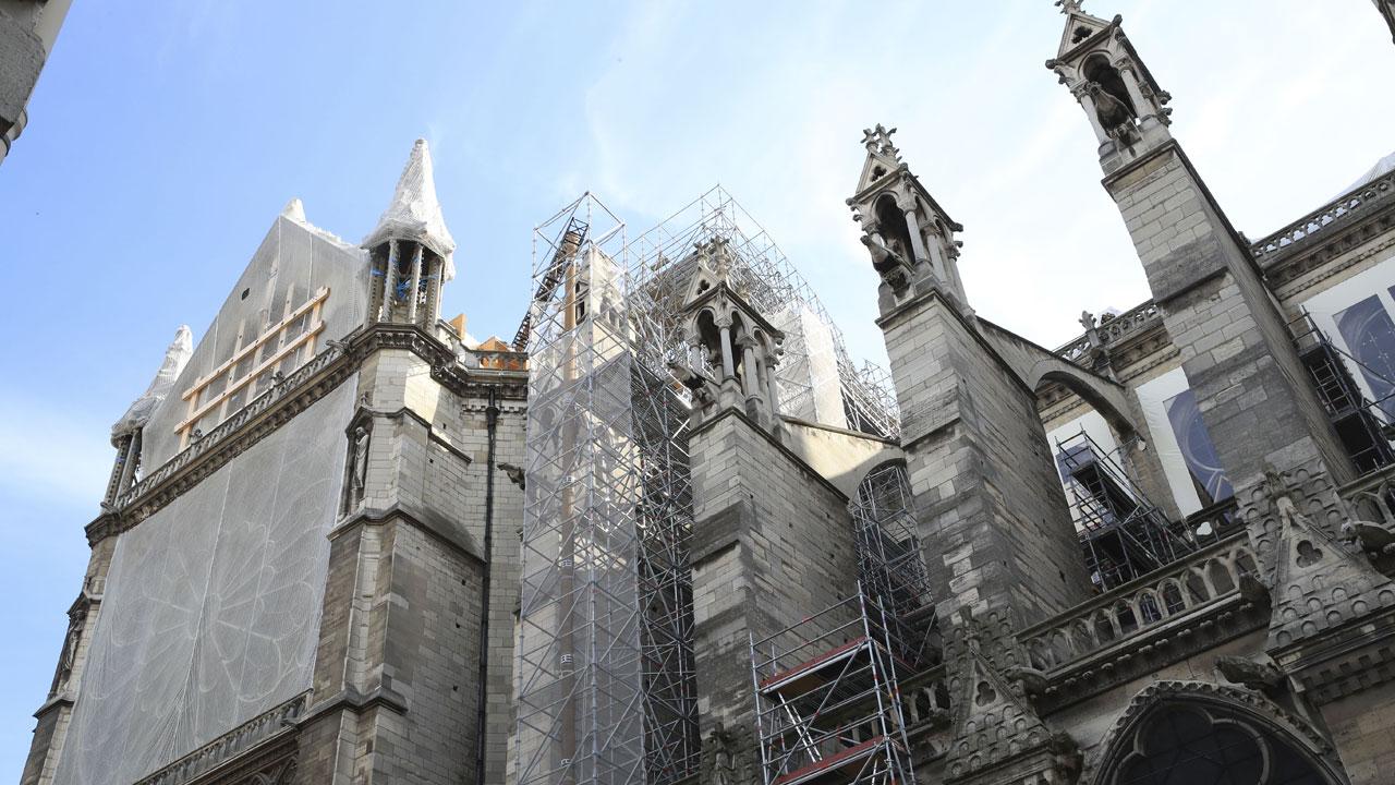 L'incendie de Notre-Dame de Paris en série façon Chernobyl