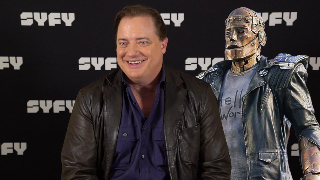 "Doom Patrol : ""Ce sont des anti-héros"" pour Brendan Fraser (Robotman)"