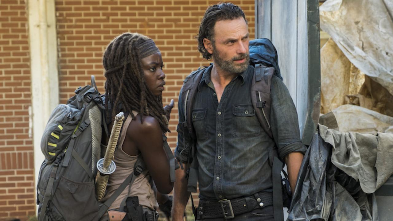 The Walking Dead: Andrew Lincoln réagit au départ de Michonne en chanson