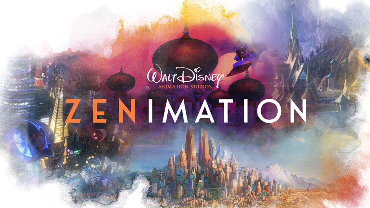 Zenimation : l'animation Disney sans dialogues ni chansons dans une série originale Disney+