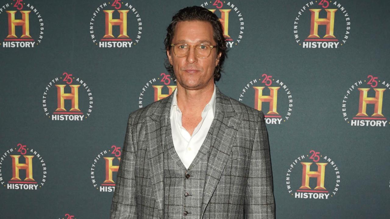 Matthew McConaughey révèle avoir été agressé sexuellement dans son autobiographie