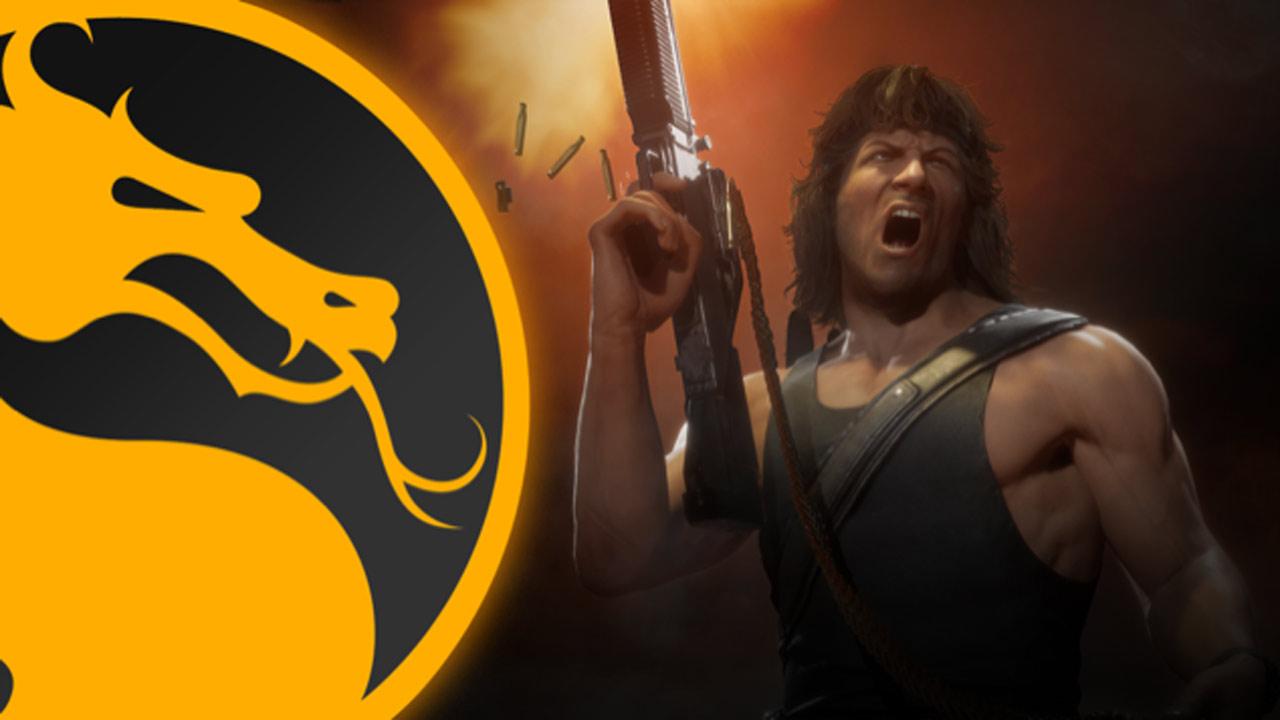 Rambo en action dans Mortal Kombat 11: c'est pas sa guerre, mais c'est son Kombat !