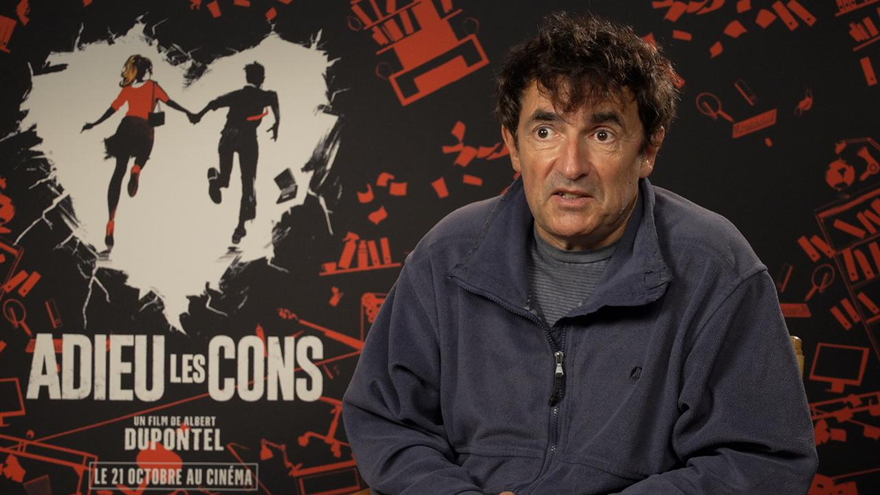 Albert Dupontel : il décrypte son cinéma pour AlloCiné