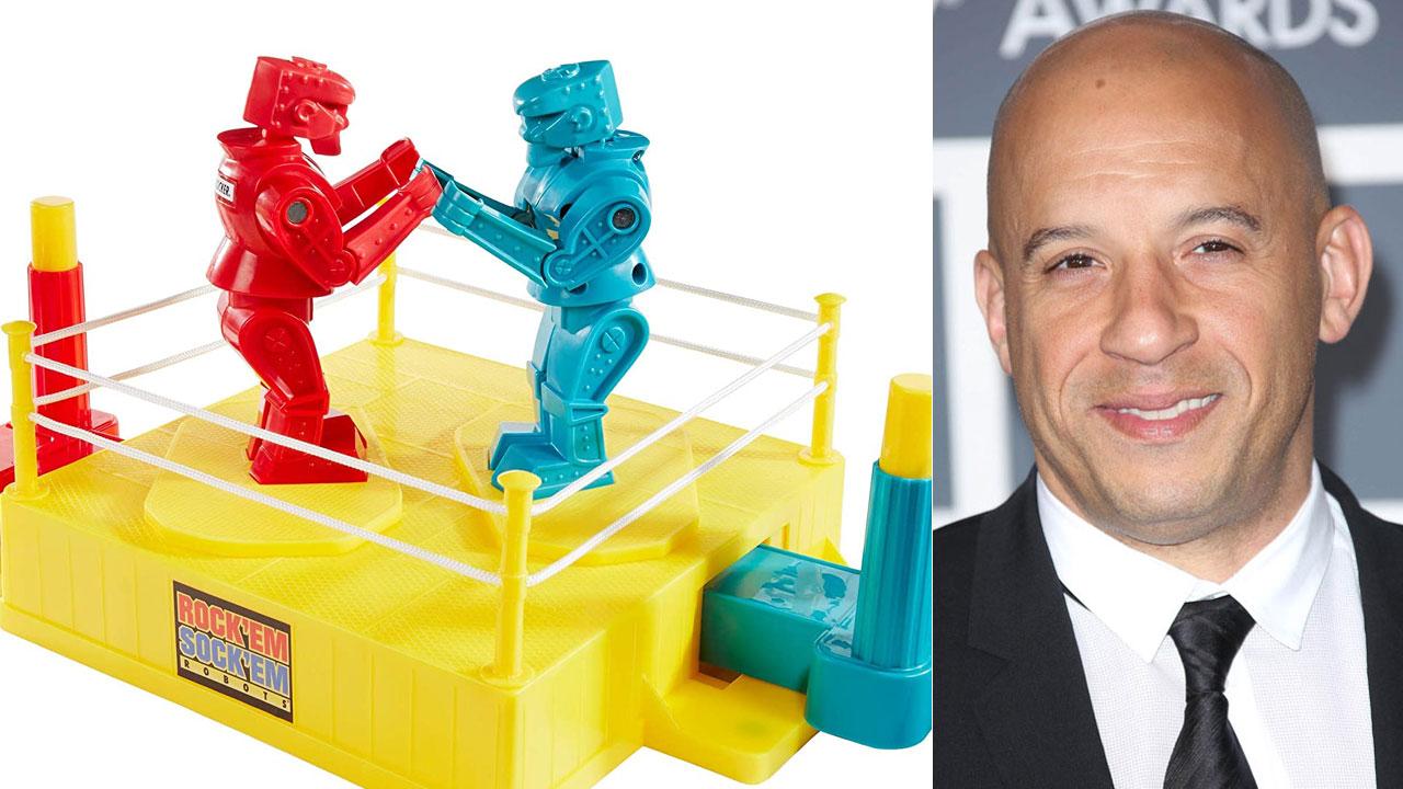 Vin Diesel dans l'adaptation du jeu de société Rock 'Em Sock 'Em Robots