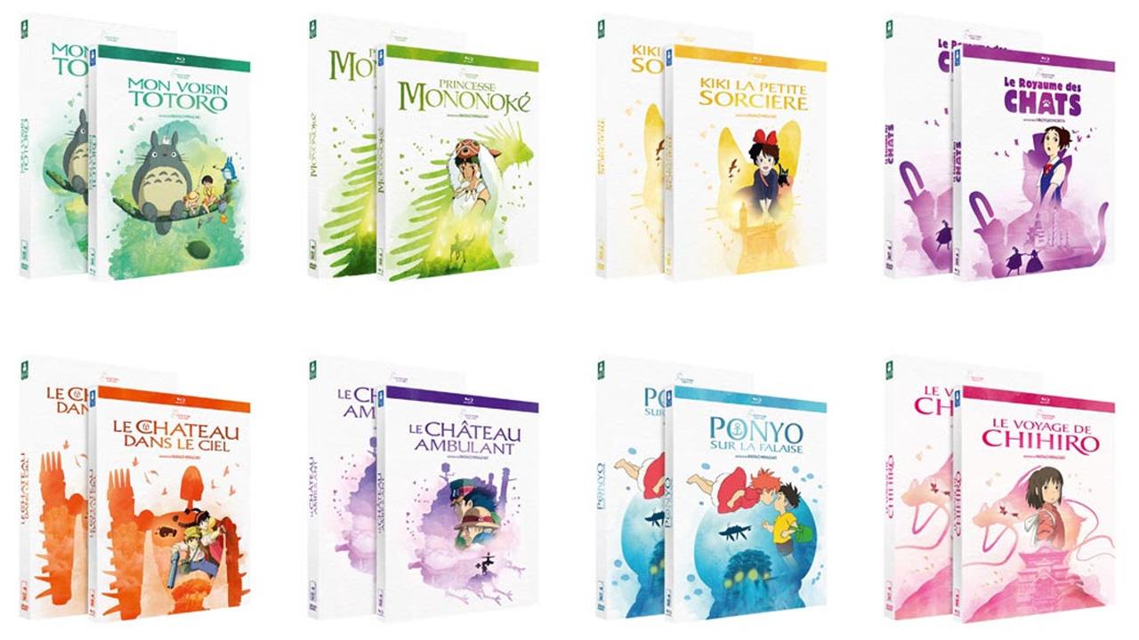 Ghibli : les chefs-d'œuvre du studio japonais dans une nouvelle collection Blu-ray et DVD