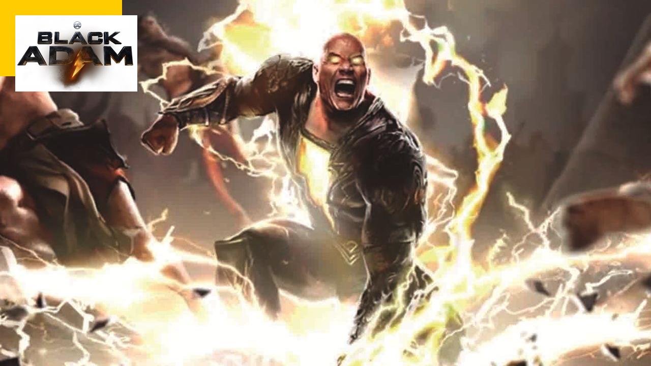 Black Adam : Dwayne Johnson en super-méchant détruit tout dans un extrait électrisant