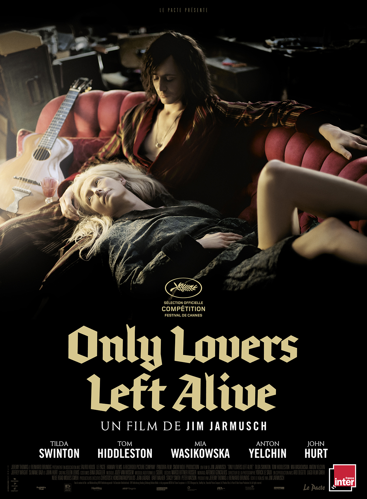 Only Lovers Left Alive streaming film