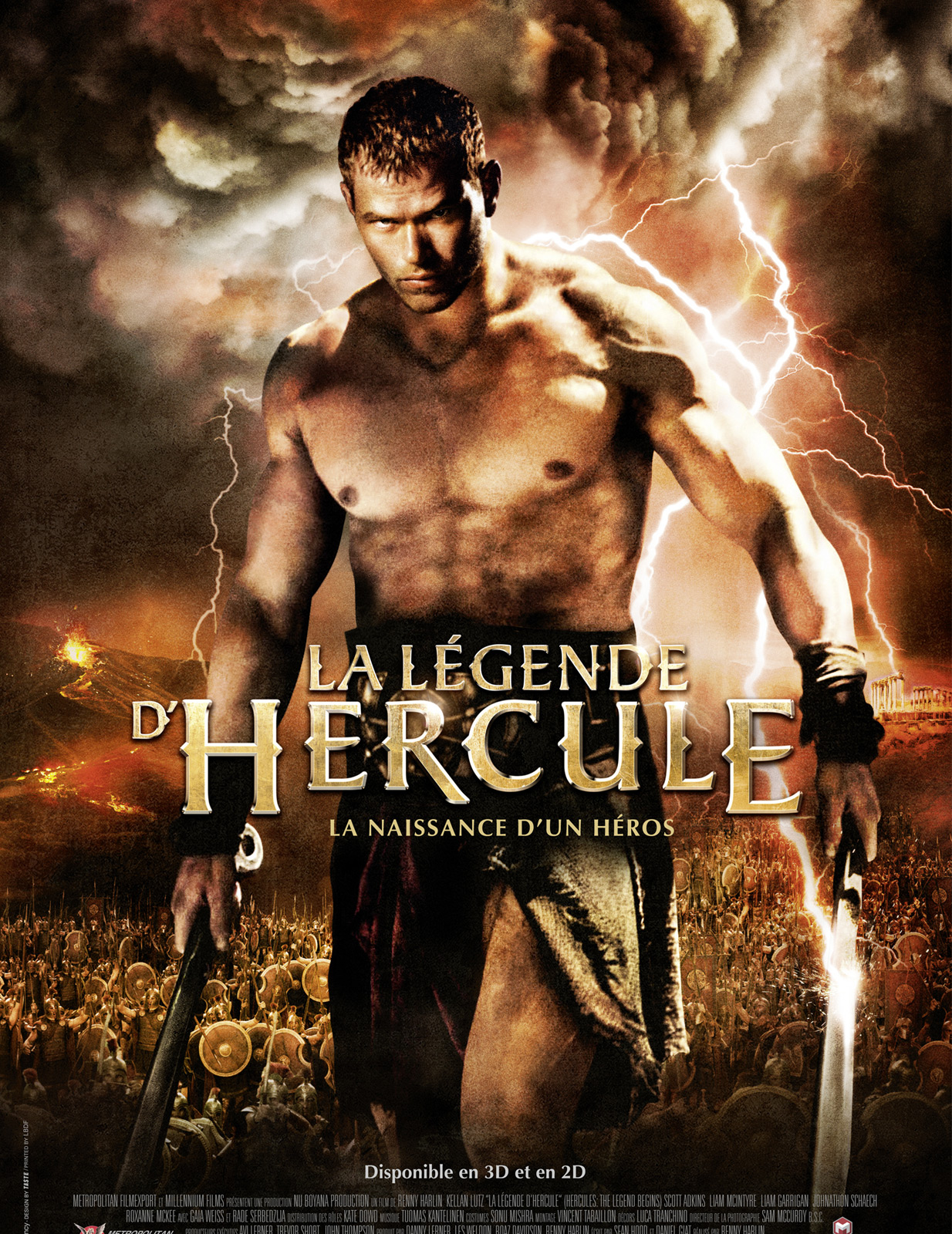 La Légende d'Hercule streaming film