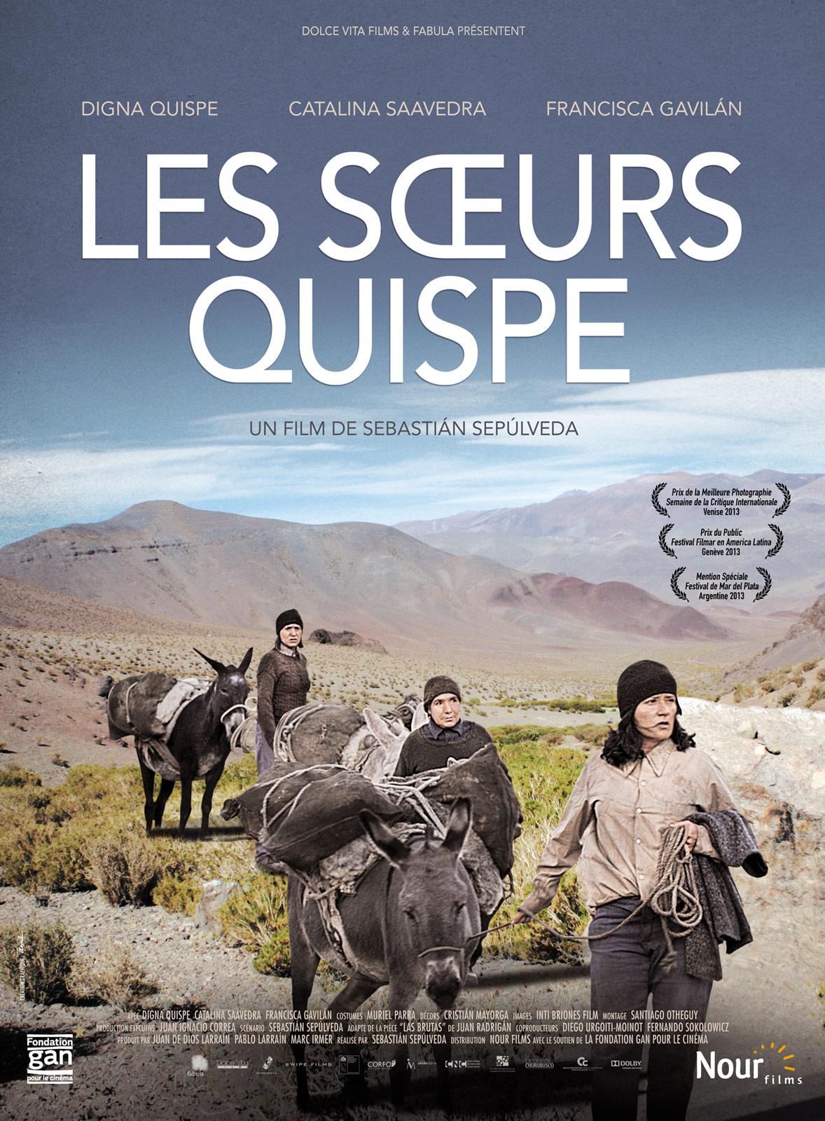 Casting du film les soeurs quispe r alisateurs acteurs - Les soeurs du marquis ...