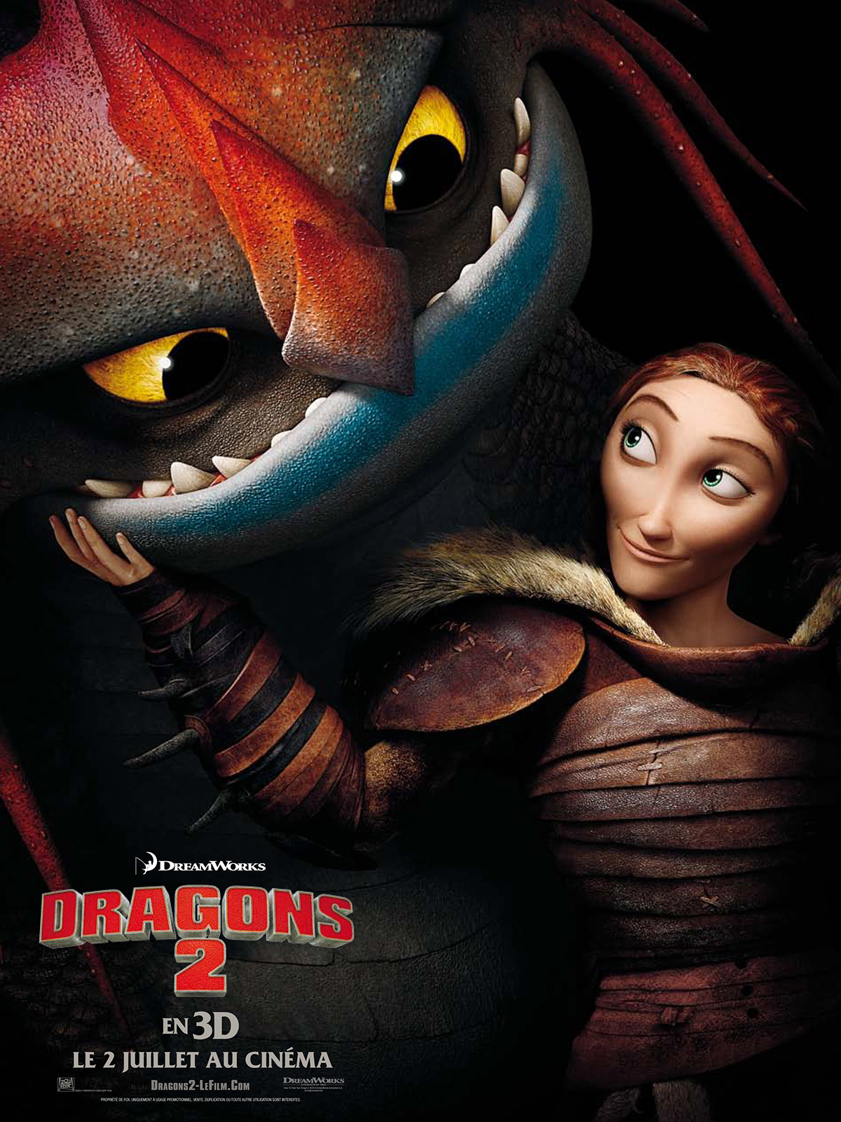 Affiche du film dragons 2 affiche 13 sur 17 allocin for Le chiffre 13 film