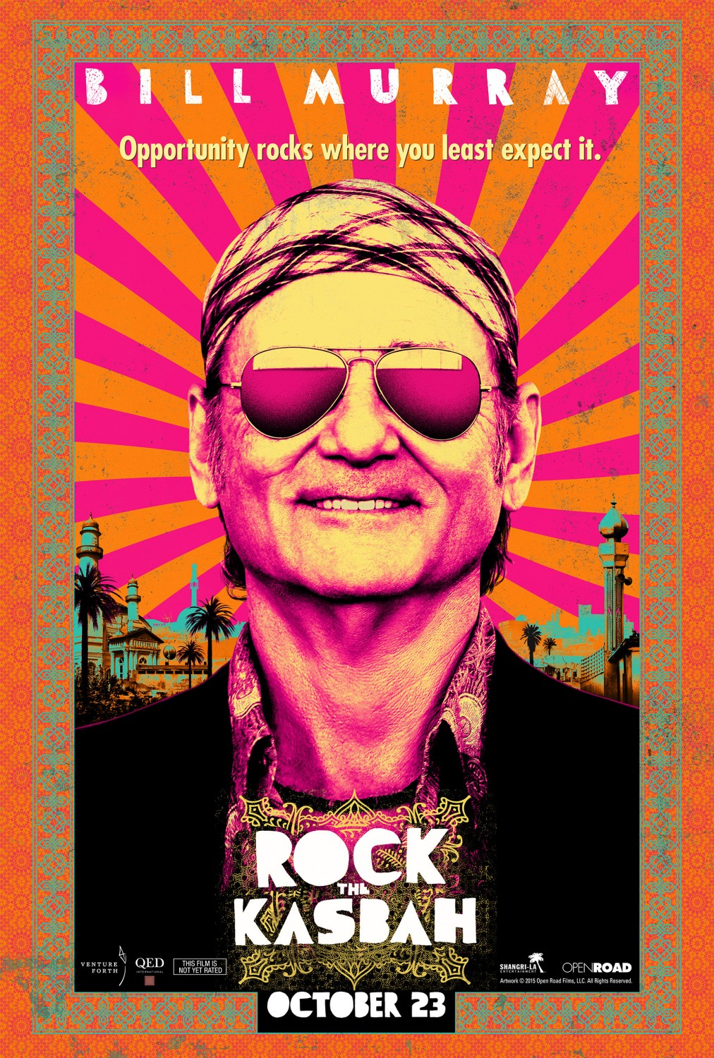 Rock The Kasbah affiche