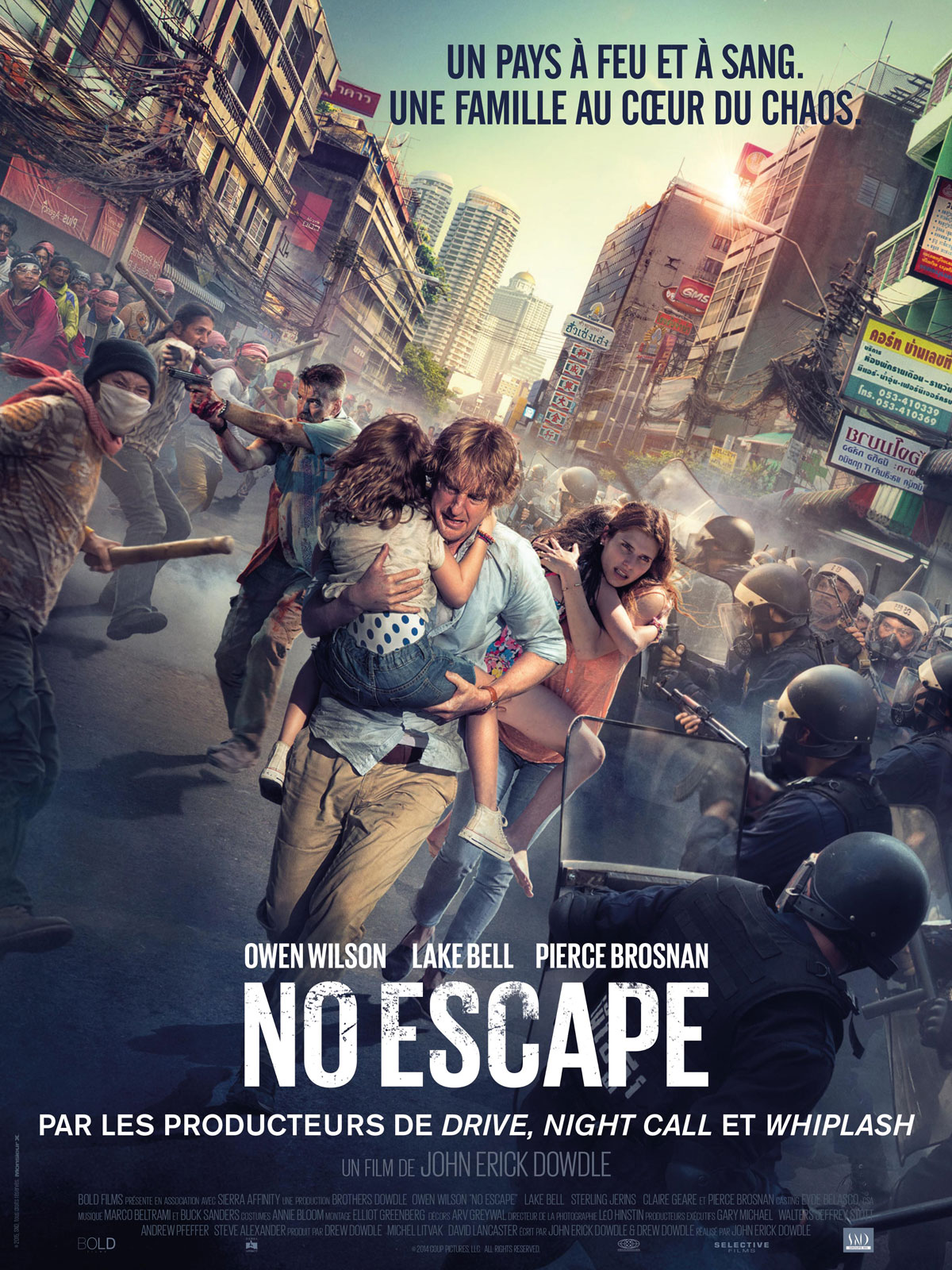 No Escape streaming