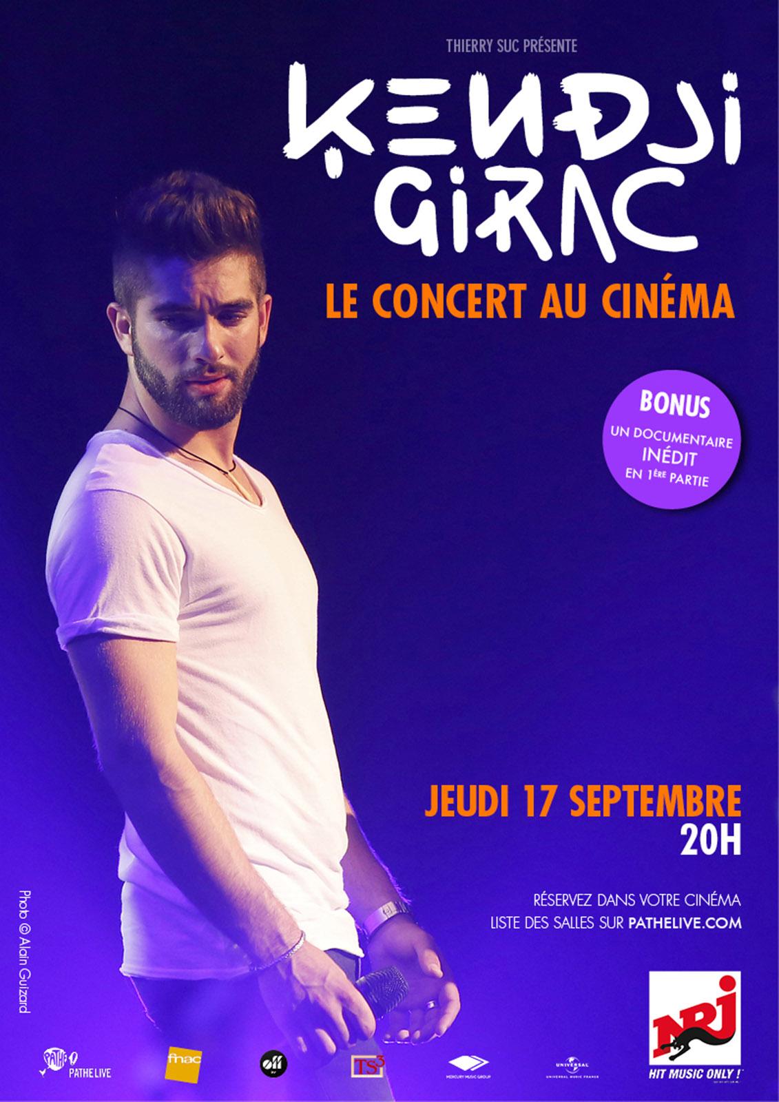 Kendji Girac au Cinéma (Pathé Live)