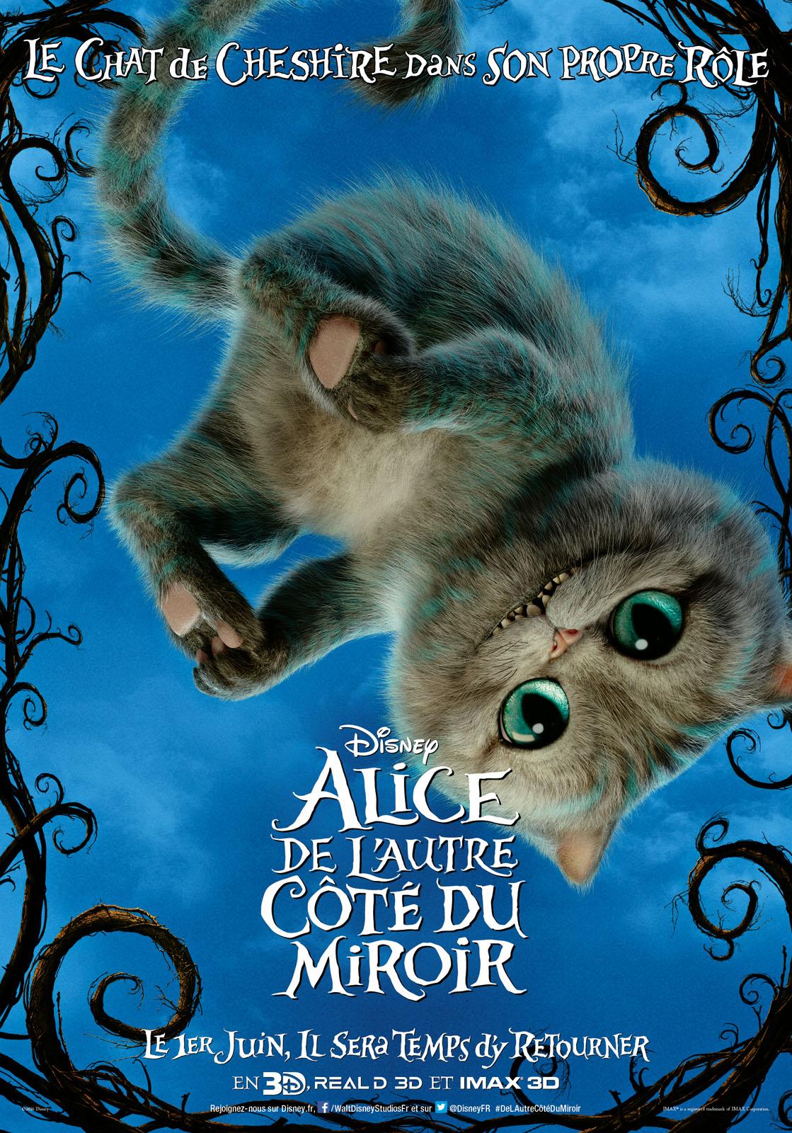 Affiche du film alice de l 39 autre c t du miroir affiche for Balthus alice dans le miroir