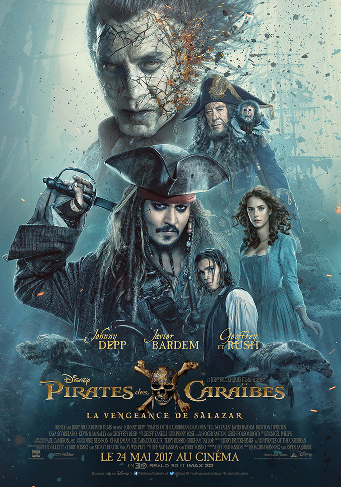 Pirates des Caraïbes : la Vengeance de Salazar streaming