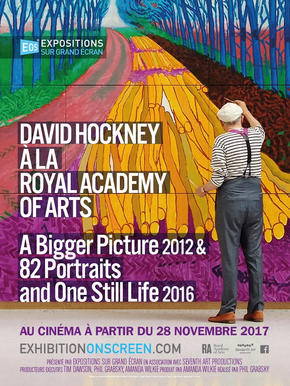 Image du film David Hockney à la Royal Academy of Arts : A Bigger Picture 2012 & 82 Portraits and One Still Life 2016