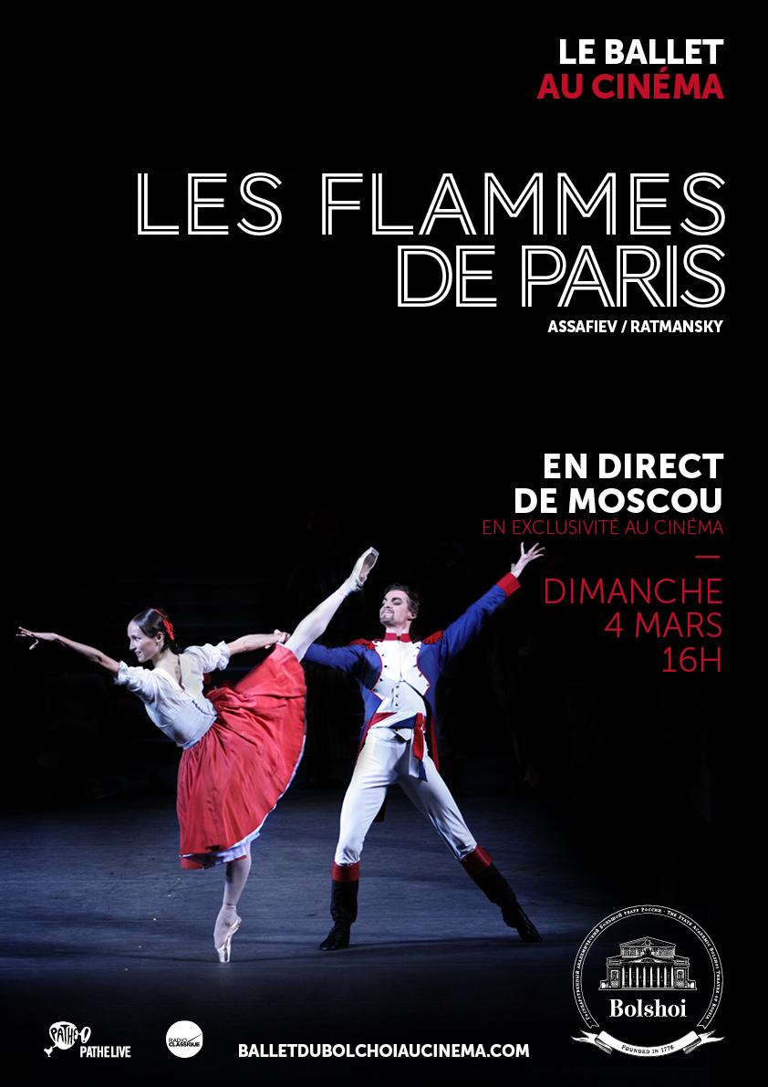 Image du film Les Flammes de Paris (Bolchoï-Pathé Live)