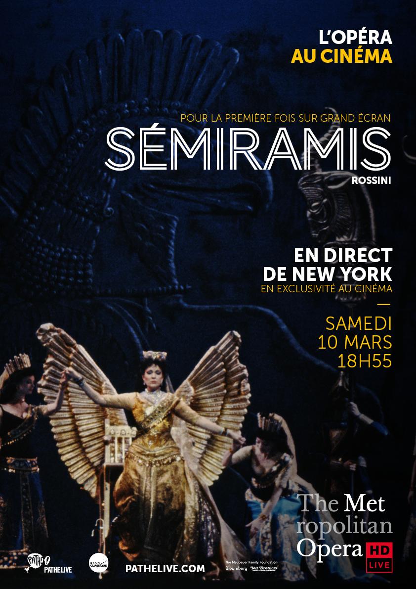 Affiche du film Sémiramis (Met-Pathé Live)