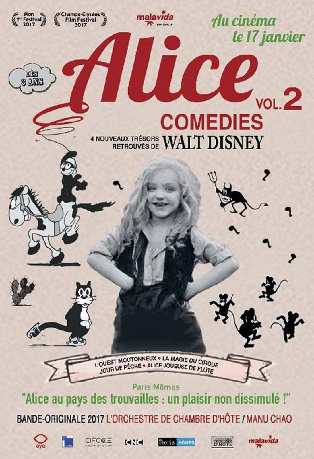 Affiche du film Alice comedies 2