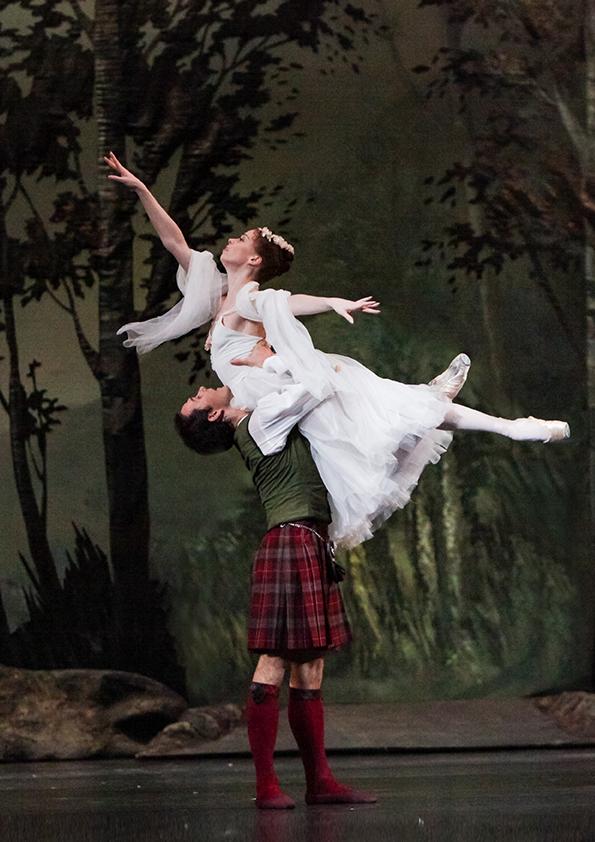 Image du film La Sylphide (Bolchoï - Pathé Live)