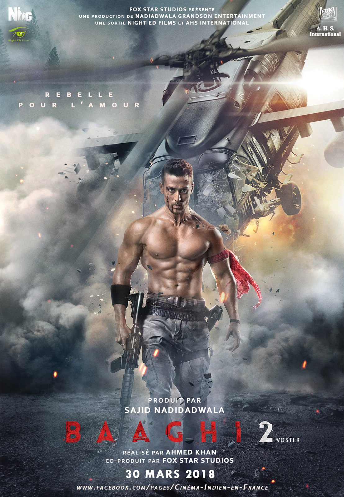 Baaghi 2 - Le Rebelle streaming
