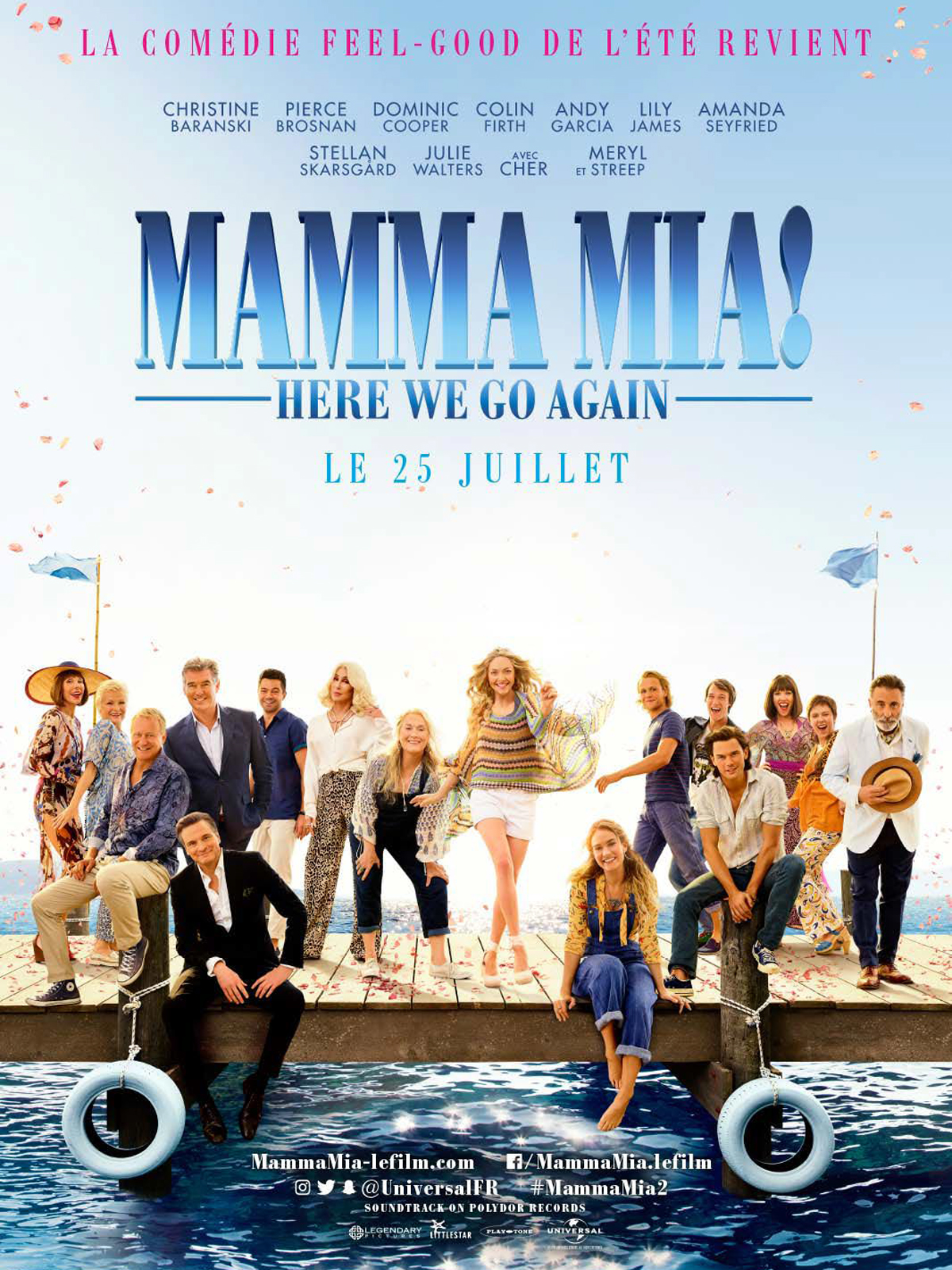 Mamma Mia! Here We Go Again streaming