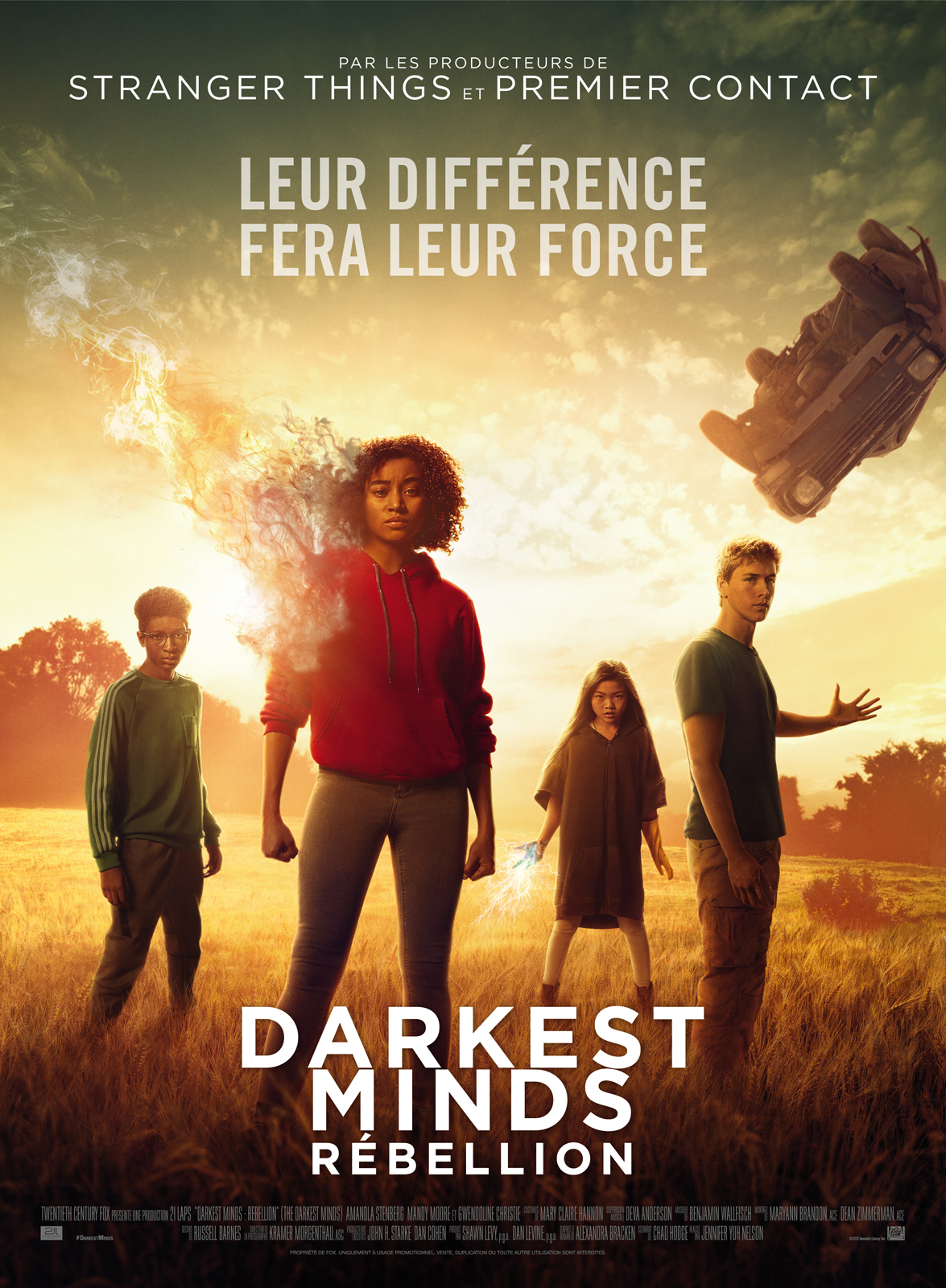 Darkest Minds : Rébellion HDCAM VO
