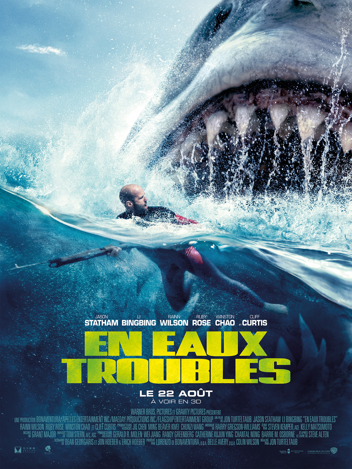 En eaux troubles 2018 HDCAM V2| VO English