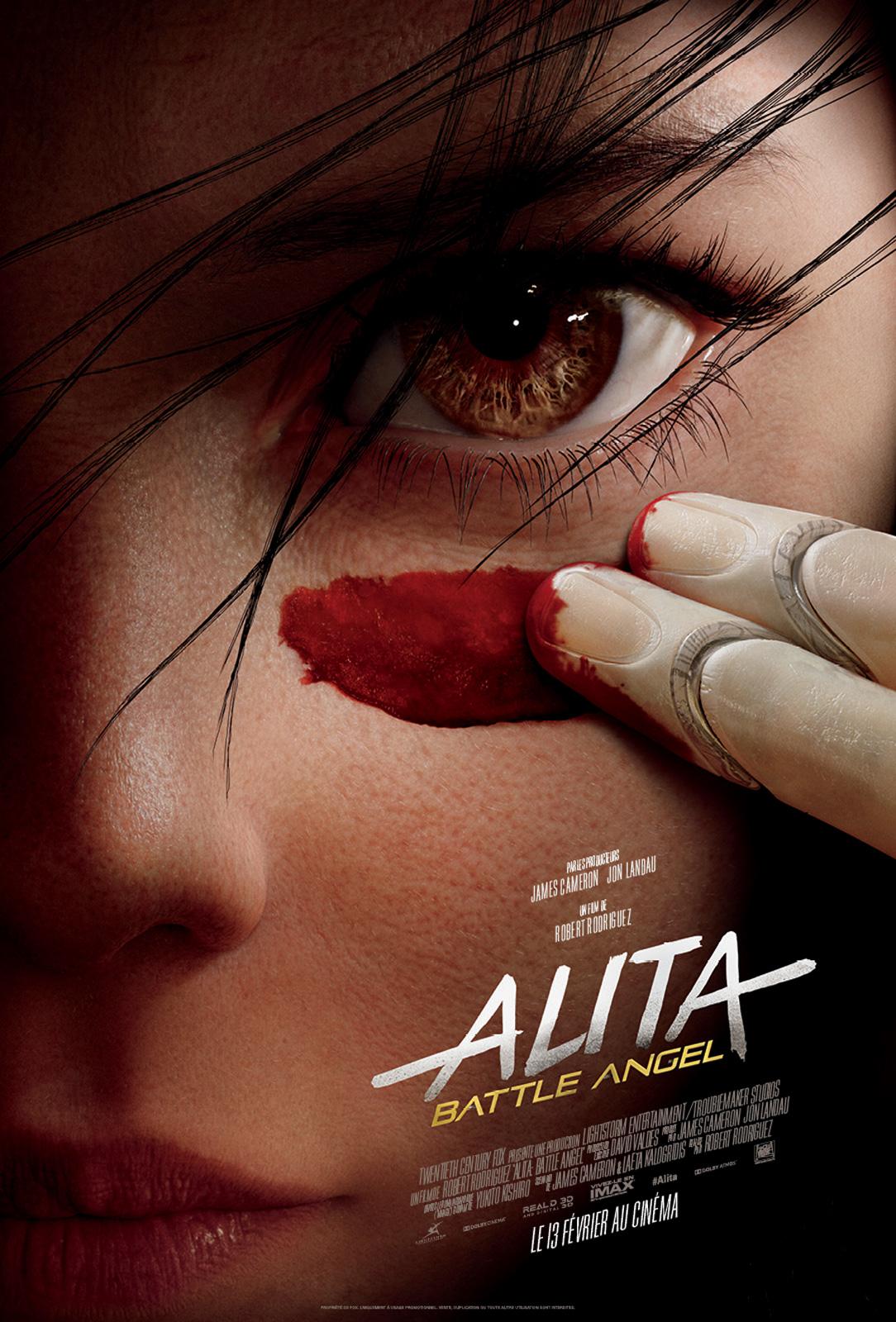 affiche du film : Alita: Battle Angel