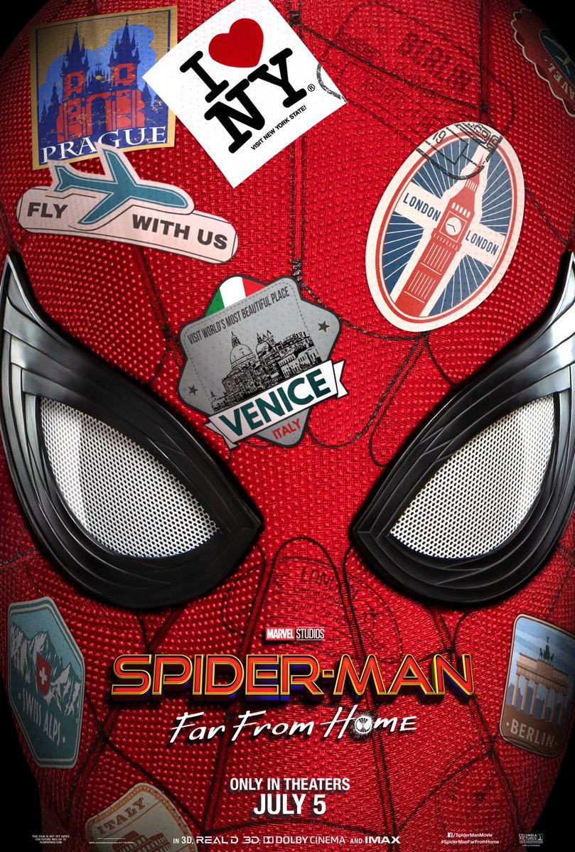 Spider Man Far From Home Film 2019 Allocin 233