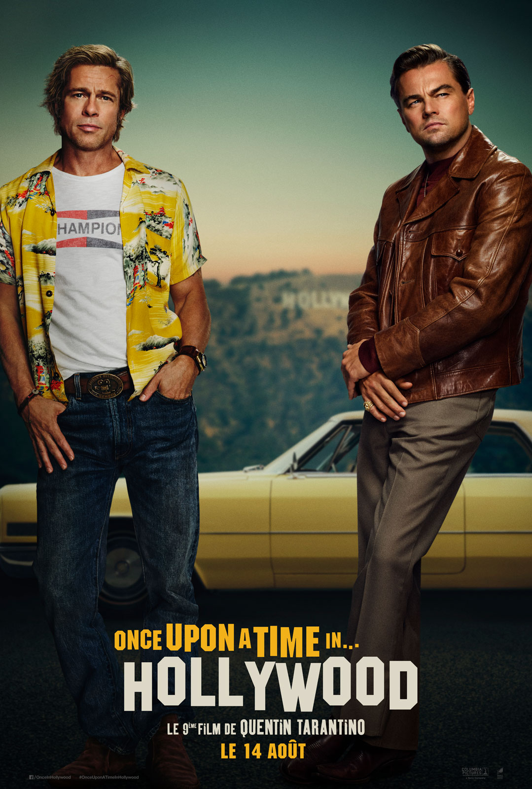 Affiche du film Once Upon A Time In... Hollywood