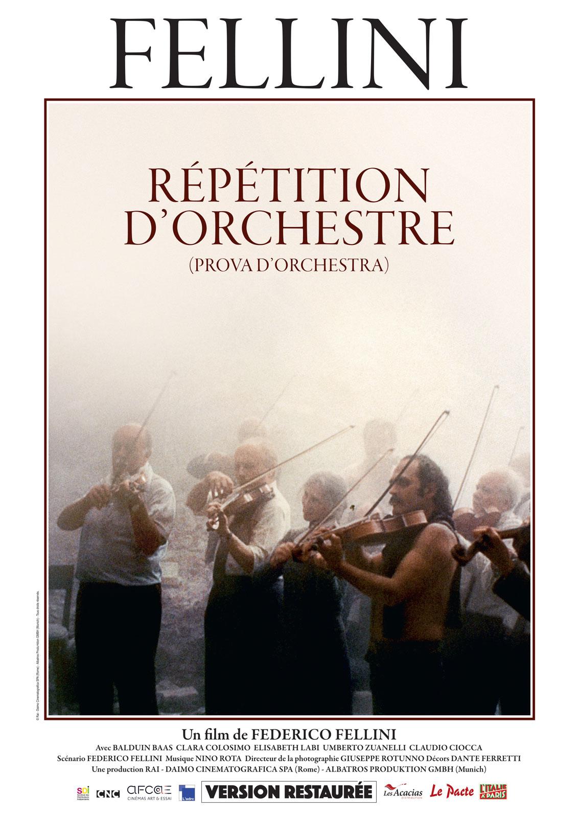 Image du film Répétition d'orchestre