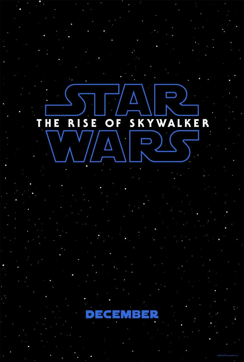 Affiche du film Star Wars: The Rise of Skywalker