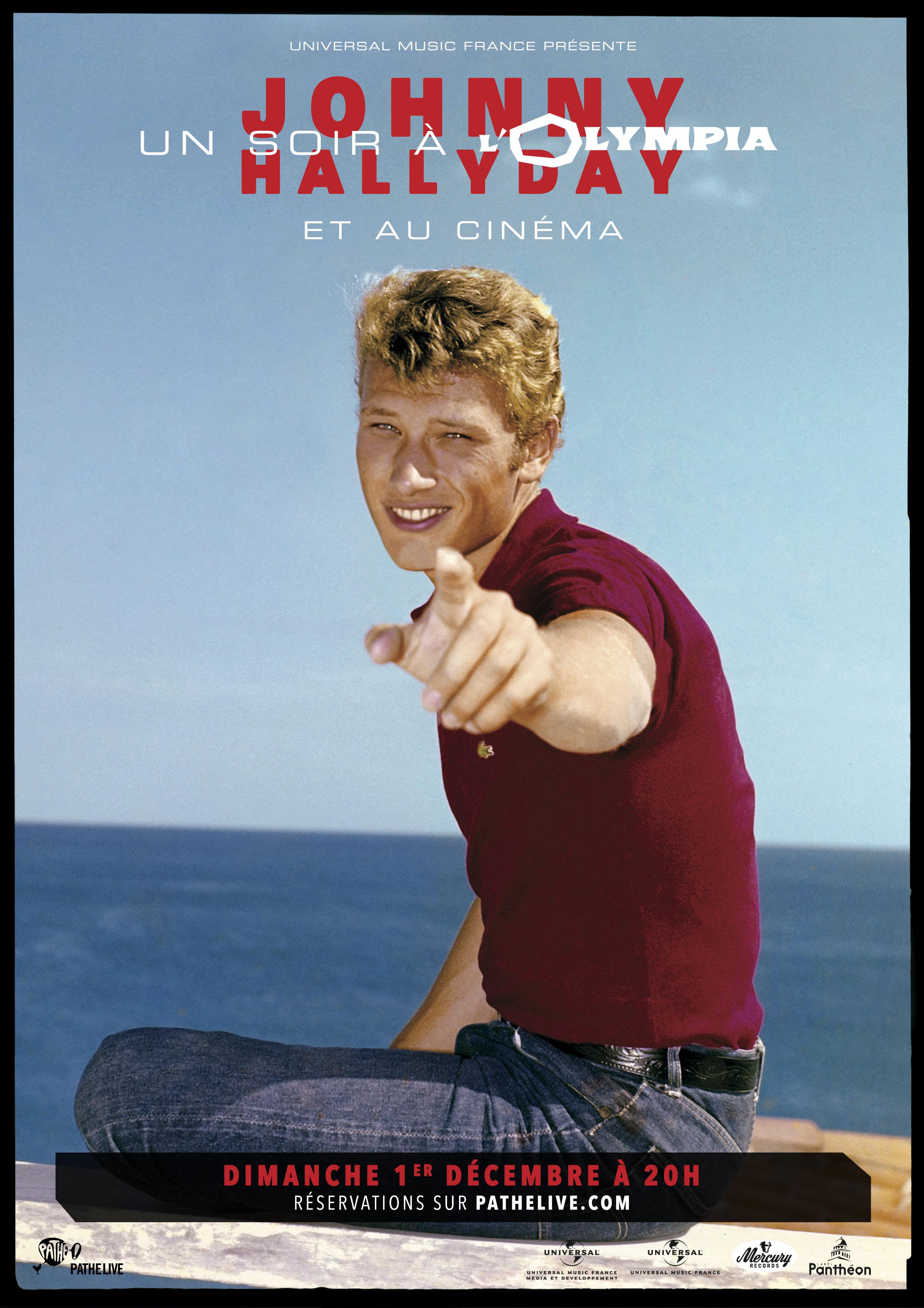 Image du film Johnny Hallyday : Un soir à l'Olympia