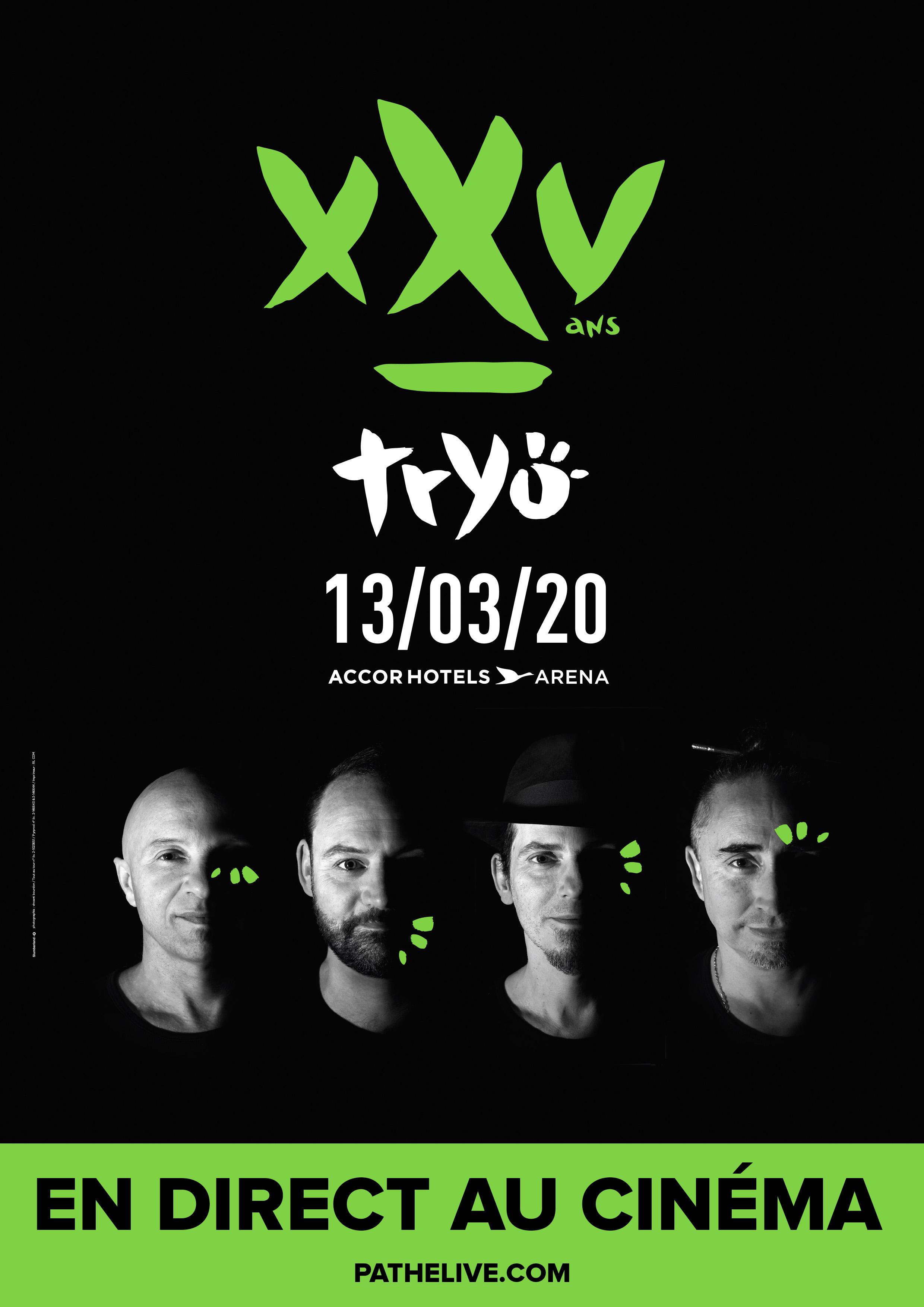 Image du film Tryo XXV ans - Le concert en direct au cinéma
