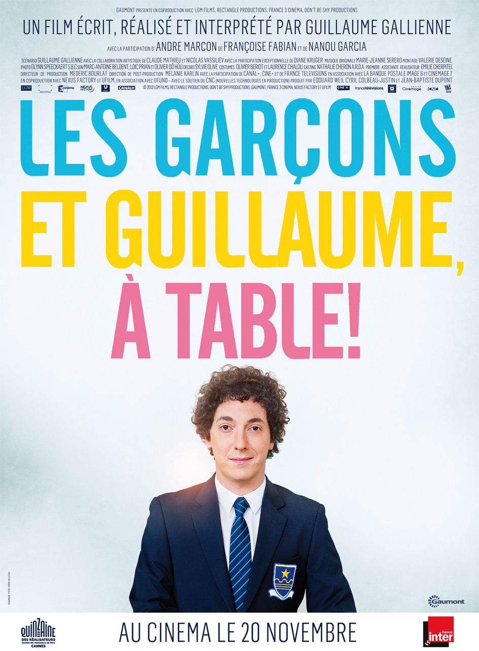 Les Garçons et Guillaume, à table ! streaming