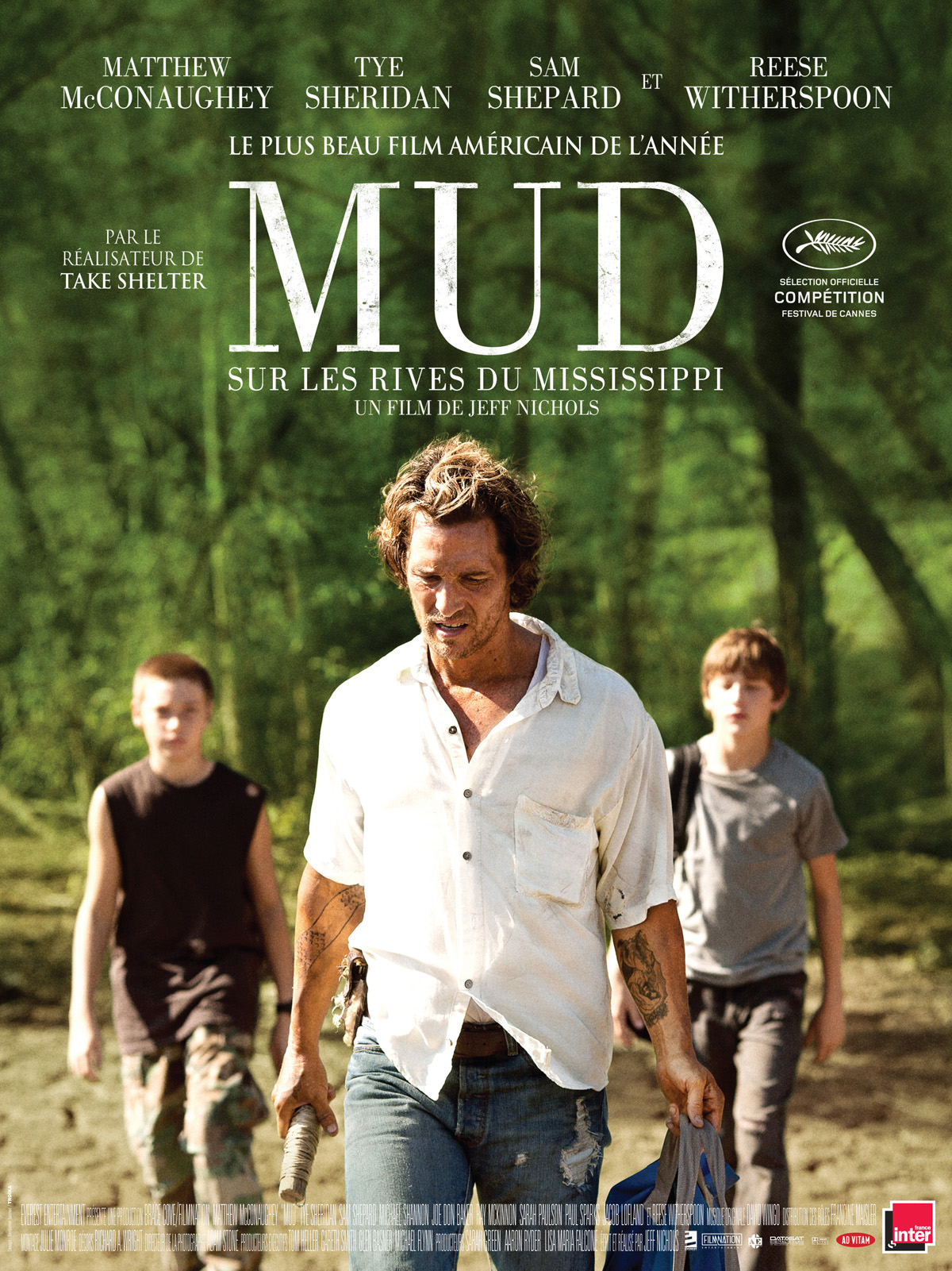 Mud - Sur les rives du Mississippi | Multi | Blu-Ray 1080p | 2012