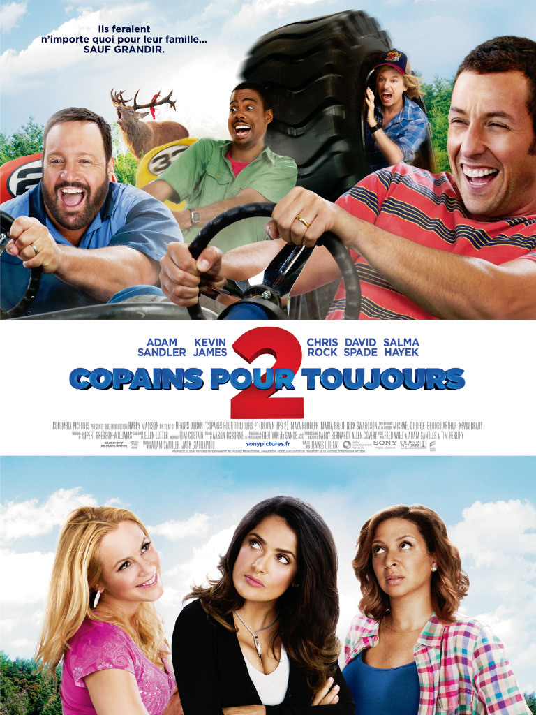 [Multi] Grown Ups 2 2013 FRENCH TS LD XviD