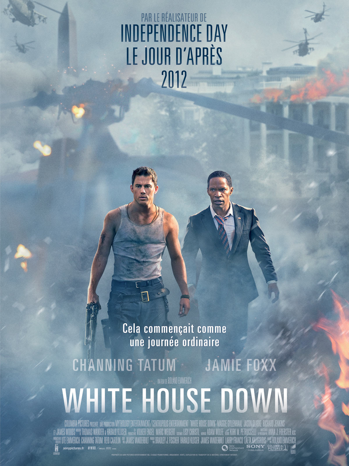 White House Down Blu Ray