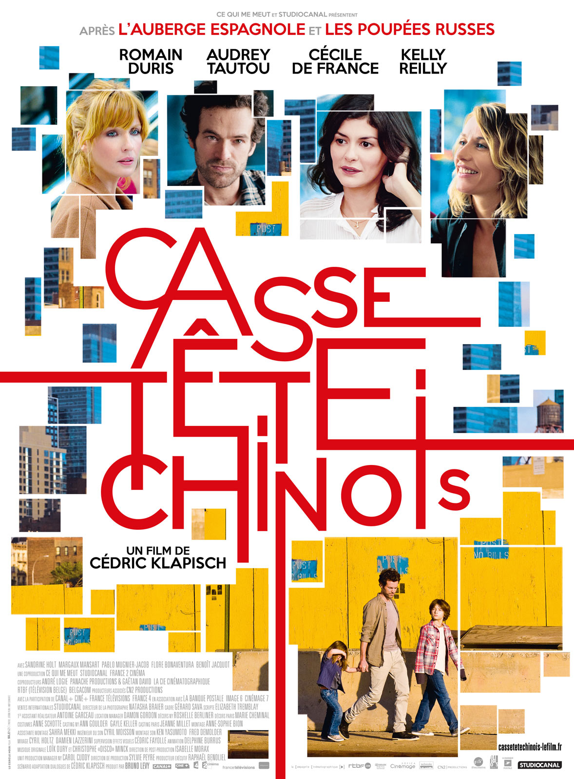 el conde fr le film 39 casse t te chinois 39 de c dric klaplisch. Black Bedroom Furniture Sets. Home Design Ideas