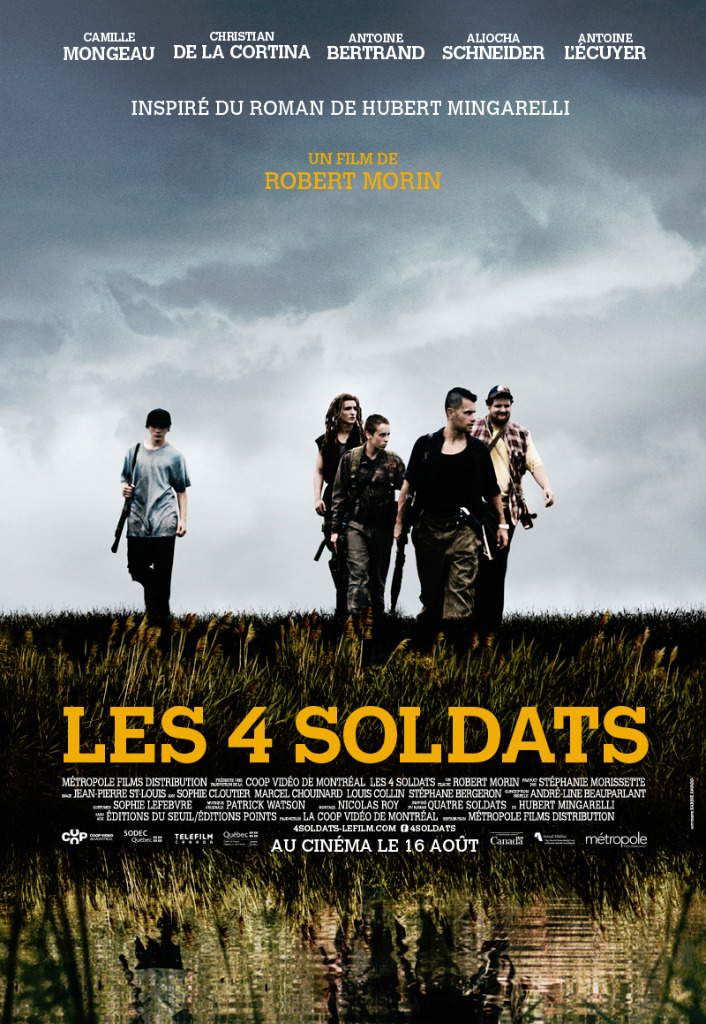 Les 4 soldats Streaming Web-DL 720p