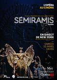 Sémiramis (Met-Pathé Live)