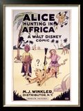 Photo : Alice Hunting in Africa