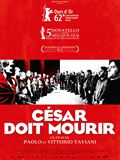Photo : César doit mourir