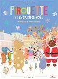 Photo : Pirouette et le sapin de Noël