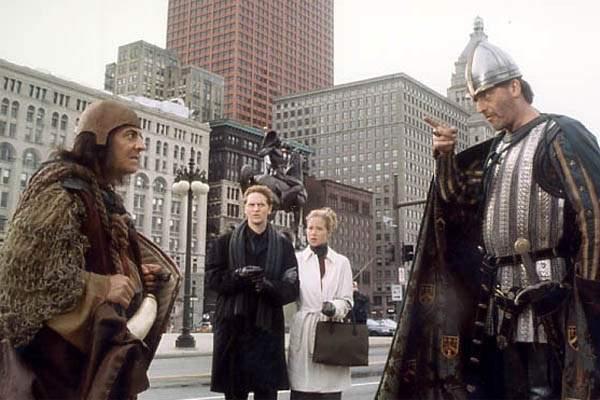 Les Visiteurs en Amérique : Photo Christian Clavier, Christina Applegate, Jean Reno, Matthew Ross