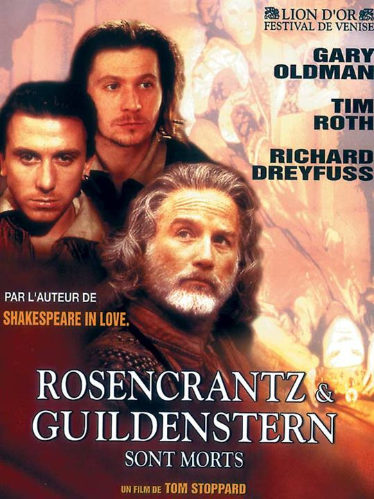 Rosencrantz et Guildenstern sont morts : Affiche