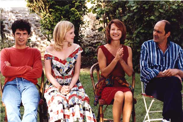 Les Sentiments : Photo Isabelle Carré, Jean-Pierre Bacri, Melvil Poupaud, Nathalie Baye, Noémie Lvovsky