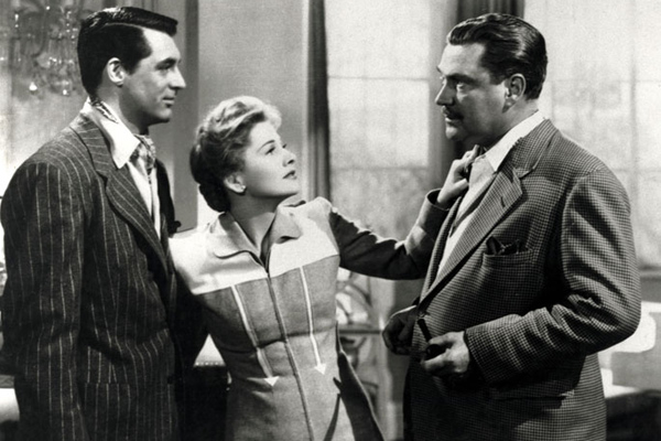 Soupçons : Photo Cary Grant, Joan Fontaine, Nigel Bruce