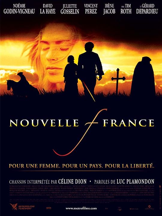 Nouvelle-France : Affiche Jean Beaudin